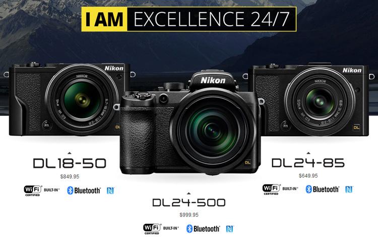 Nikon DL bei Nikon USA