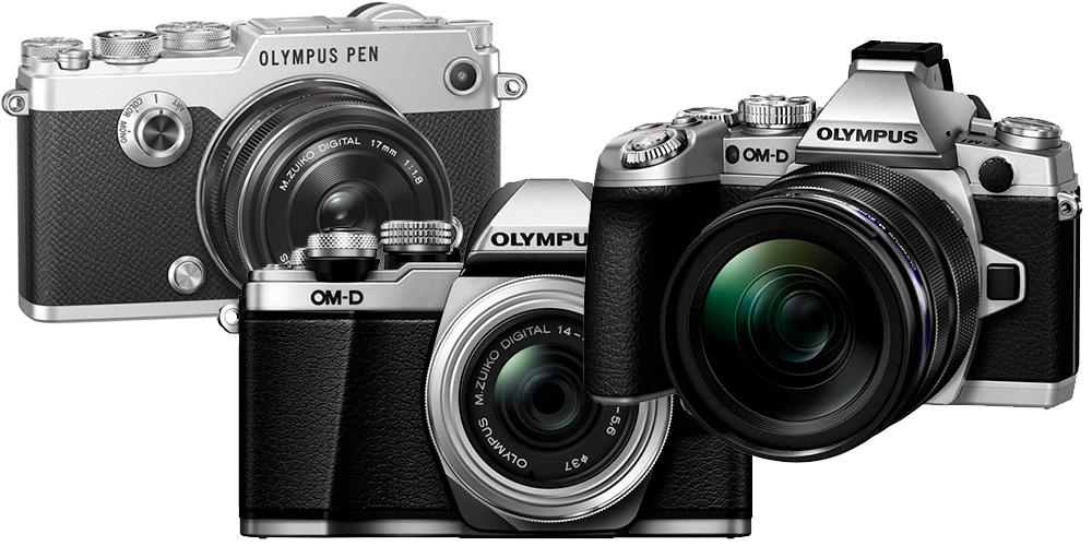 Olympus bringt neue Firmware für E-M1, E-M5 II, E-M10 II und PEN-F