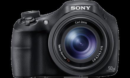 Sony stellt Bridgekamera HX350 mit 50fach-Zoom vor