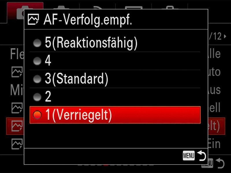 Alpha 99 II Tracking-AF