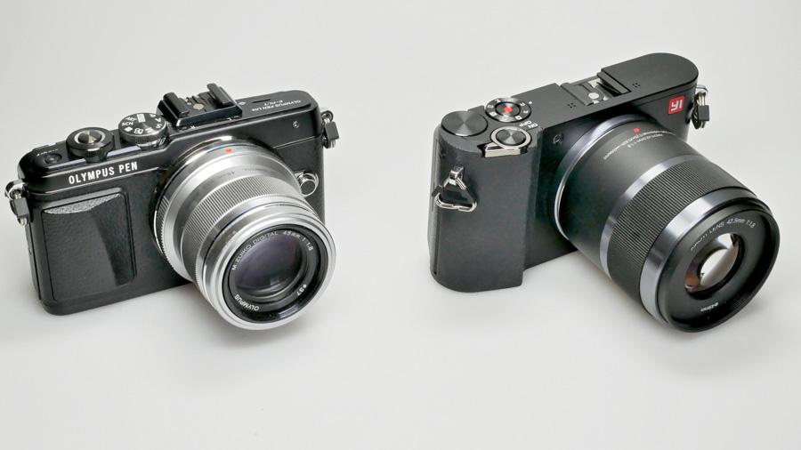Yi M1 und Olympus PEN E-PL7 im Vergleich