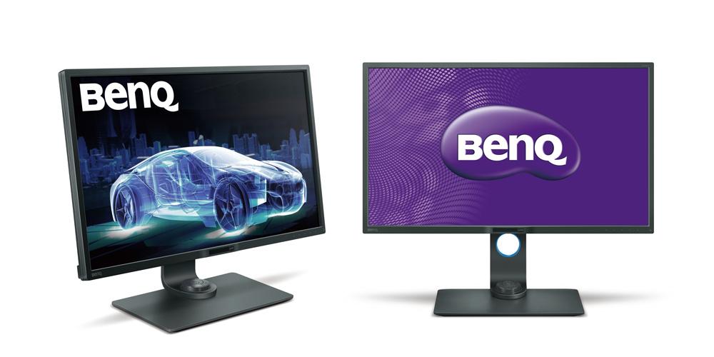 BenQ: Zwei neue 32-Zoll-Monitore für Designer und Bildbearbeiter