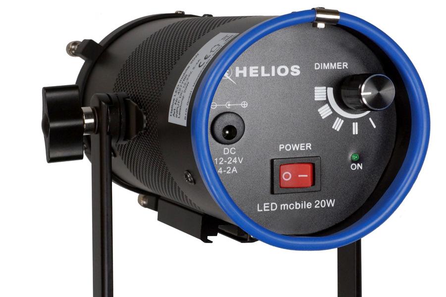 HELIOS LED mobile 20W Rückseite