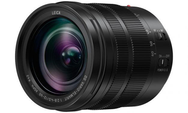 Neu von Panasonic: Standardzoom Leica DG Vario-Elmarit 12-60mm/F2.8–4.0