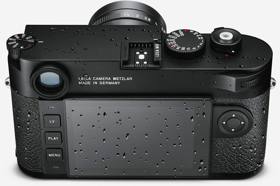 Leica M10 Wetterschutz