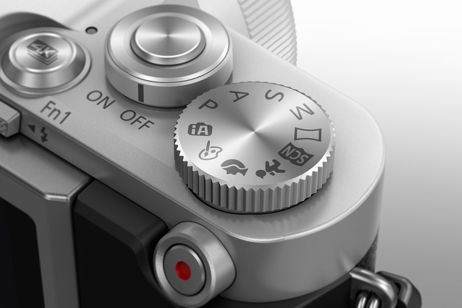 Panasonic Lumix GX800 Mode-dial