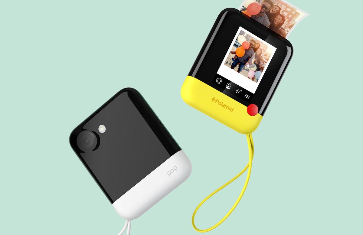 Digitale Sofortbildkamera Polaroid Pop Angekündigt Photoscala