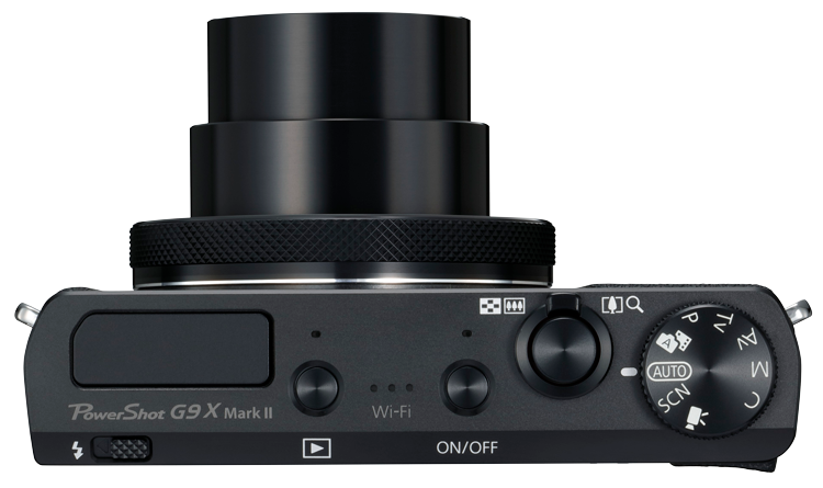 PowerShot G9 X Mark II Top