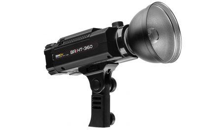 SMDV BRiHT-360 HSS Akku-Blitz für Studio und draußen