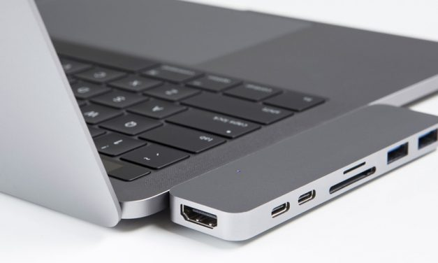 Für neue Apple MacBooks: Hyper­Drive-Adapter