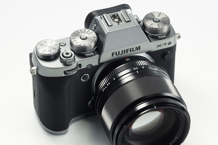 Fujifilm X-T2 Graphit Silber top