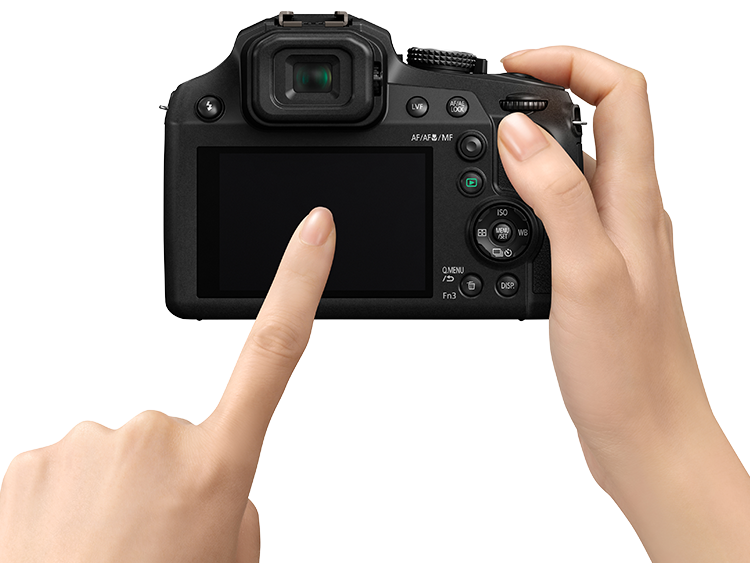 Panasonic Lumix FZ82 Touchscreen