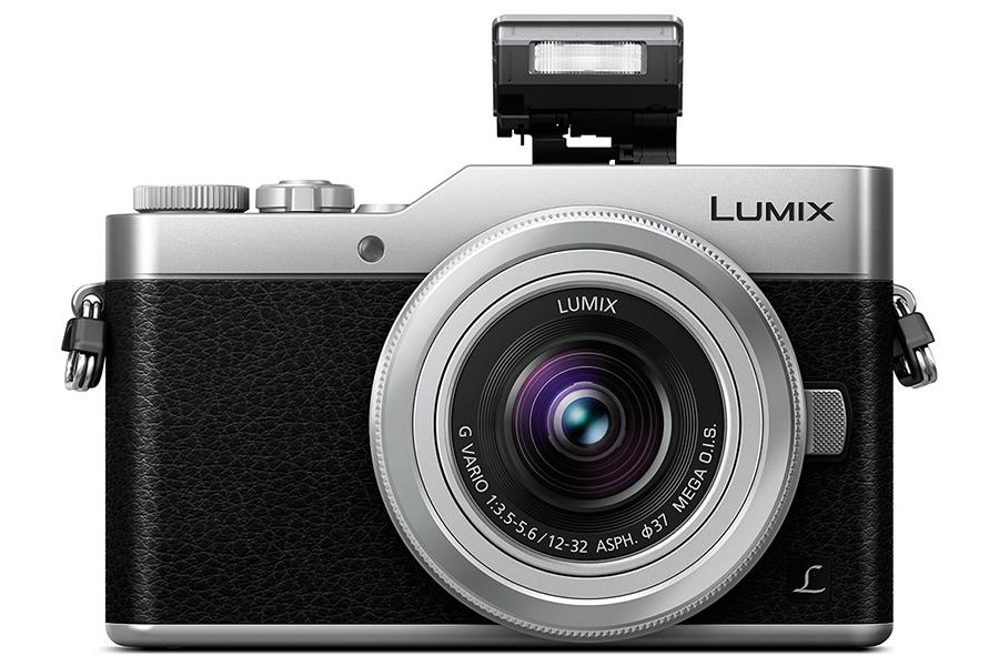 Panasonic Lumix GX800 front popup