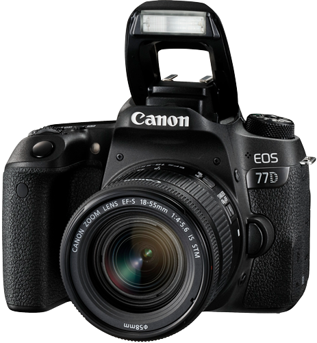 Canon EOS 77D FSL mit EF-S 18-55mm f4-5.6
