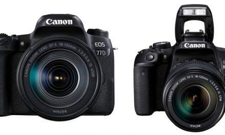 Canon DSLR EOS 77D und EOS 800D im Detail vorgestellt