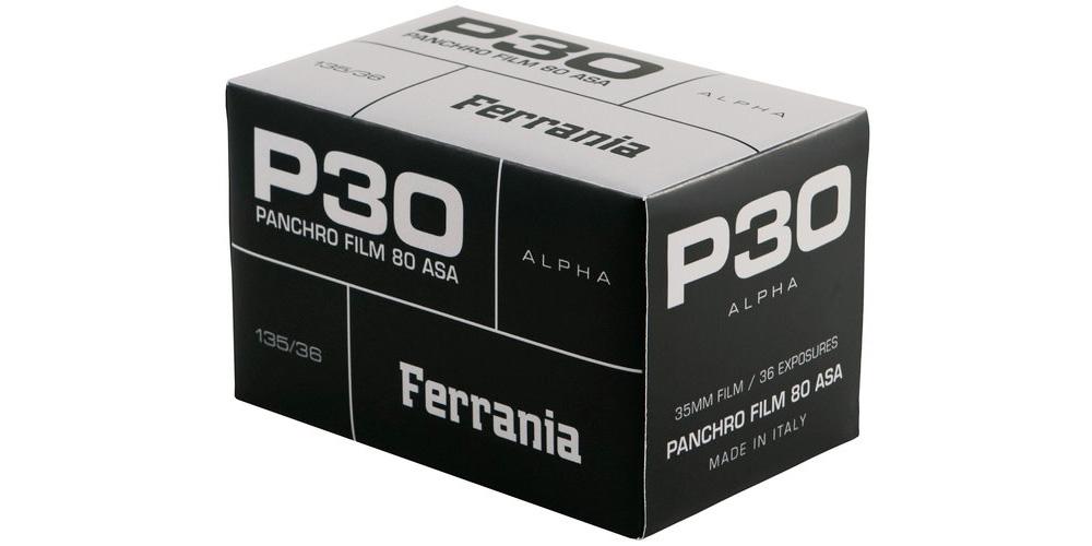 Film Ferrania meldet sich mit Schwarzweißfilm P30 zurück