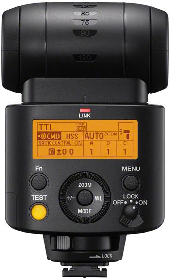HVL-F45RM von Sony Rückseite
