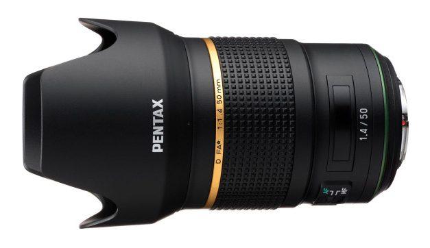 Pentax stellt 1.4/ 50mm D FA* in Aussicht