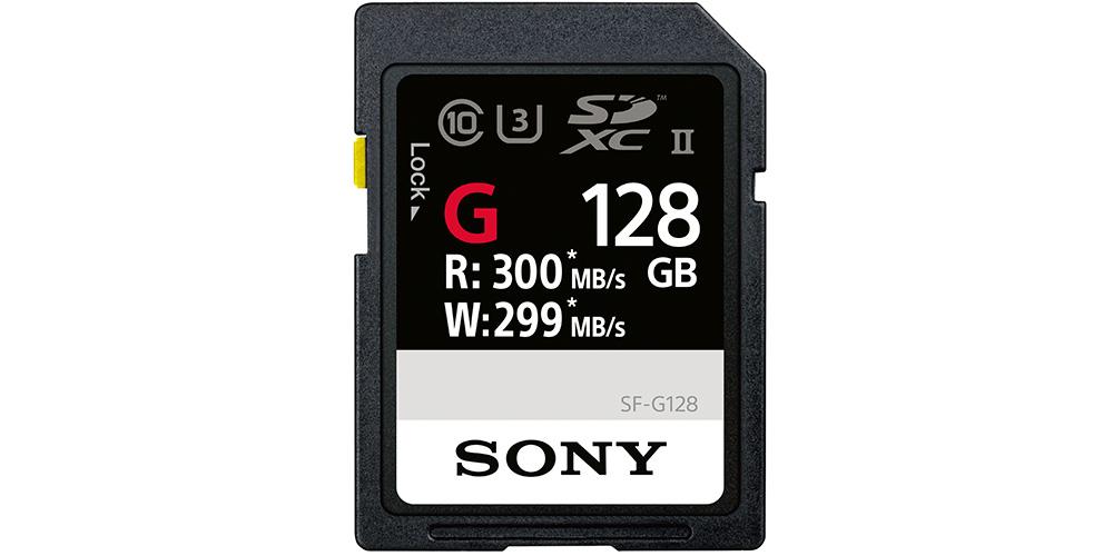 Sony kündigt schnellste SD-Karte der Welt an