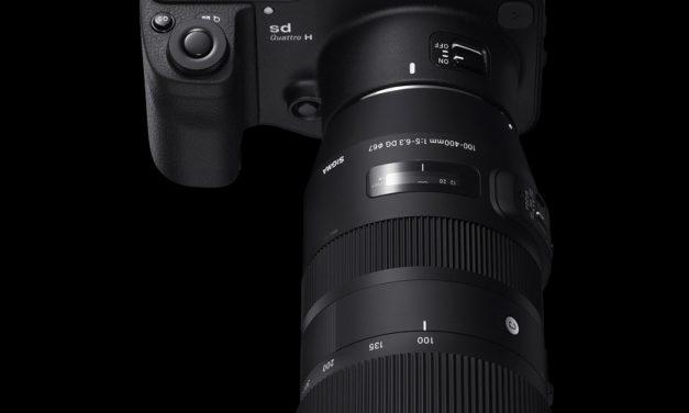 Sigma präsentiert Super-Zoom 100–400mm F5-6.3 DG OS HSM