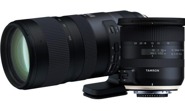 Tamron kündigt zwei neue Zoom-Objektive an