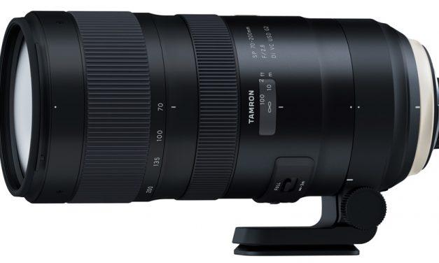 Neues SP-Design: Tamron kündigt SP 70-200mm F/2.8 Di VC USD G2 an