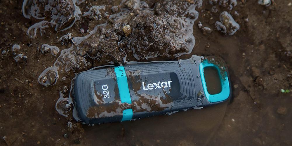 Lexar JumpDrive Tough: USB-Stick für den rauen Einsatz