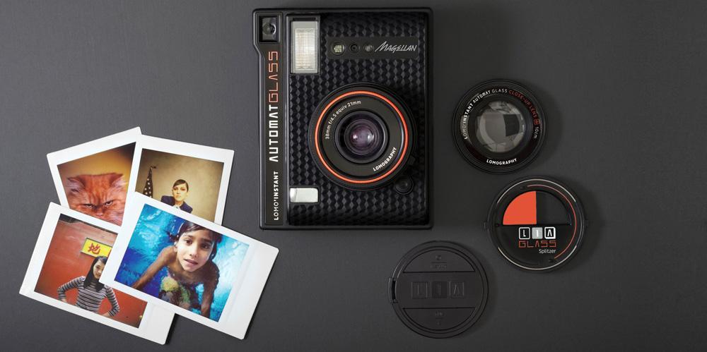 Lomo'instant Automat Glass: Sofortbildkamera mit Weitwinkelobjektiv