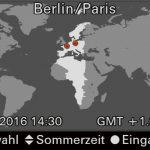 Sommerzeit: Kamerauhr nicht vergessen!