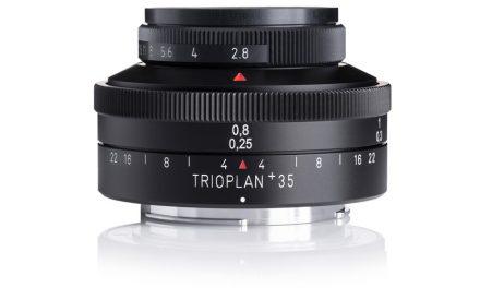 Meyer-Optik-Görlitz präsentiert Trioplan 35+ f2.8