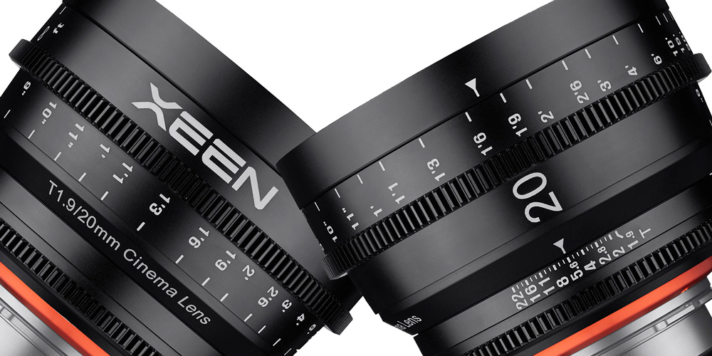 Samyang erweitert XEEN-Reihe um 20 mm/T1.9