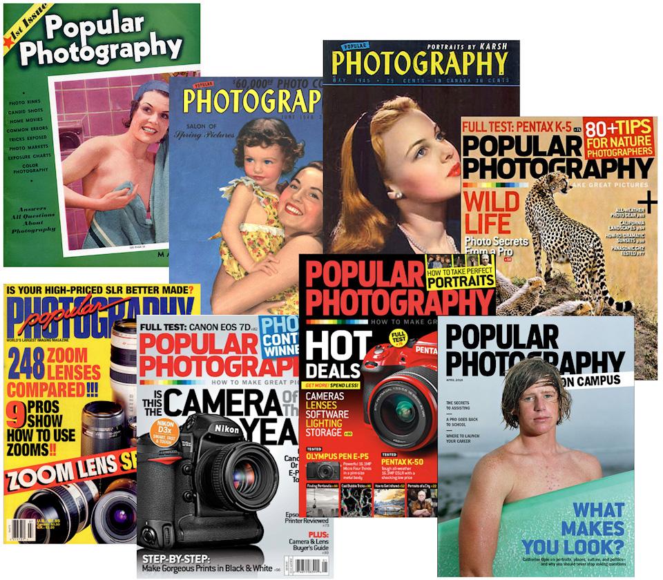 Titelbilder Popoular Photogra. Collage: Urs Tillmanns