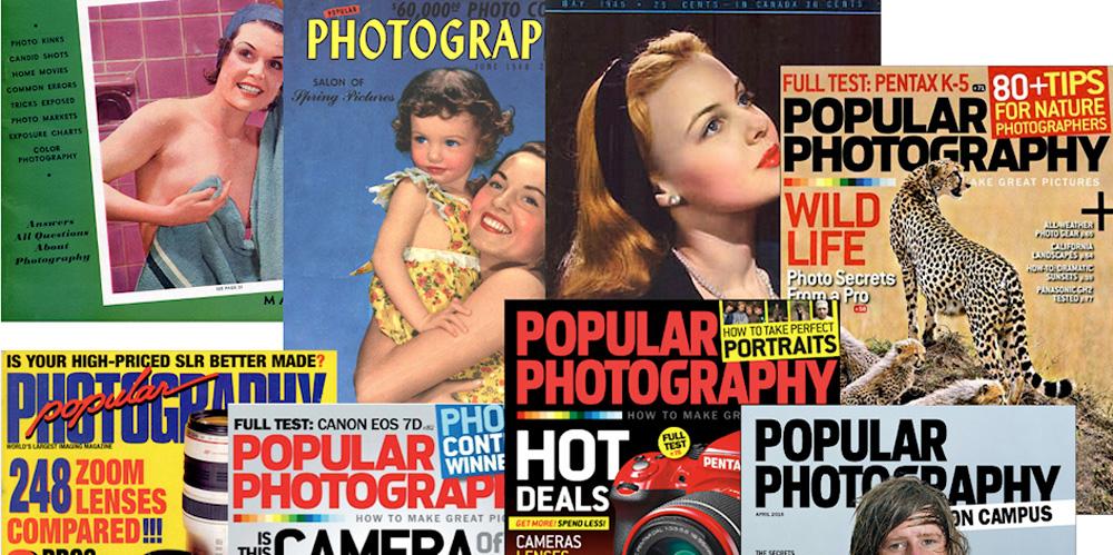 """""""Popular Photography"""" stellt nach 80 Jahren ihr Erscheinen ein"""