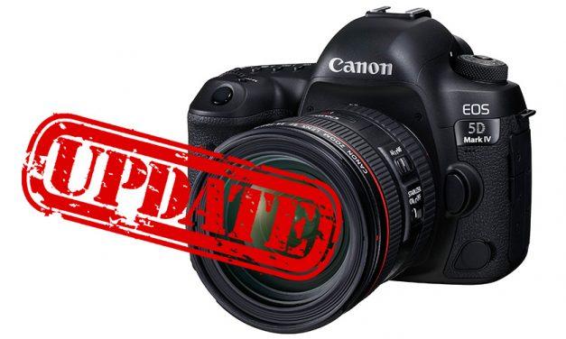 Canon offeriert C-Log für EOS 5D Mark IV als kostenpflichtiges Firmware-Upgrade