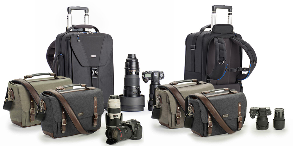 ThinkTank Frühjahrskollektion: Fototaschen, Trolley und mehr