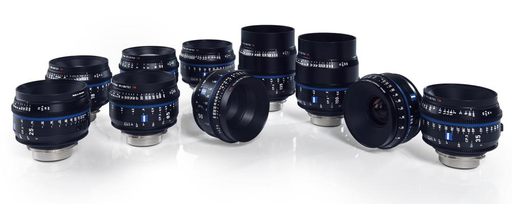 Zeiss stellt neue Cine-Objektivfamilie CP.3 XD vor