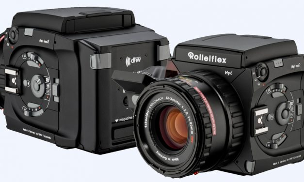 Analog und digital: Mittelformatkamera Hy6 ist wieder zu haben (aktualisiert)