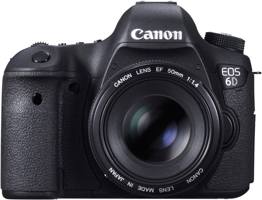 Canon EOS 6D mit EF-50mm