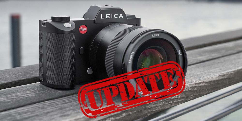 Leica SL-System bekommt umfangreiches Firmware-Update