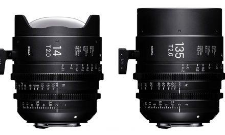 Sigma erweitert sein Angebot an Cine-Objektive um 14 mm und 135 mm