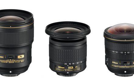Neu von Nikon: 28 mm 1:1,4E ED, 8-15 mm 1:3,5-4,5E ED und DX 10-20 mm 1:4,5-5,6G VR