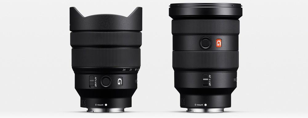 Neu für Sony E-Mount: Weitwinkel-Zooms FE 16-35/F2.8 GM und FE 12-24/F4 G