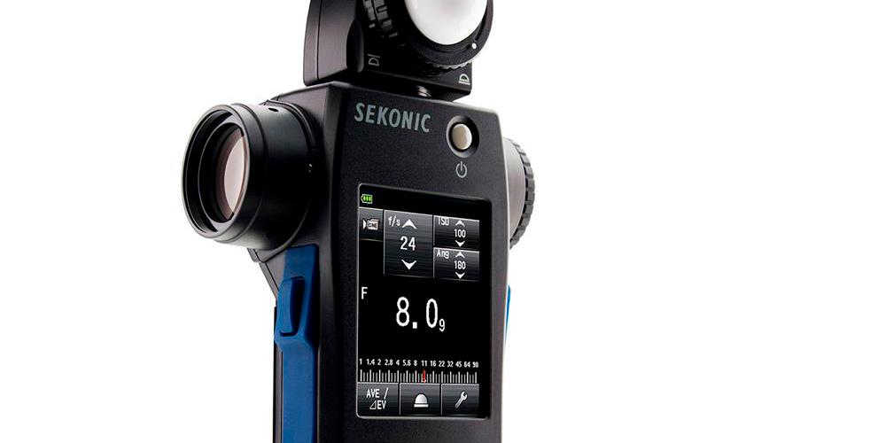 Sekonic Speedmaster L-858D: Professioneller Belichtungsmesser mit vielen Sonderfunktionen