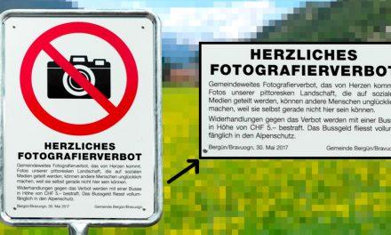 PR-Aktion: Schweizer Bergdorf Bergün erlässt gemeindeweites Fotoverbot
