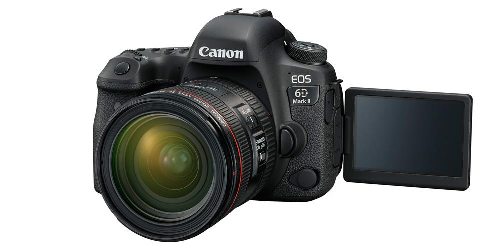 Canon präsentiert EOS 6D Mark II