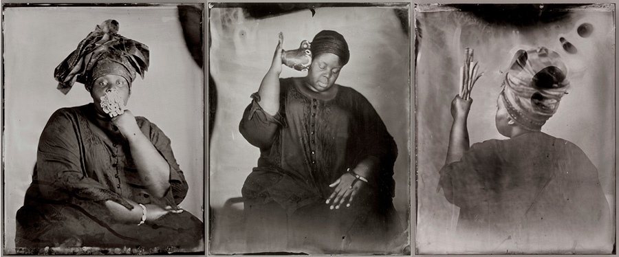 Khadija Saye: Dwelling: in this space we breathe