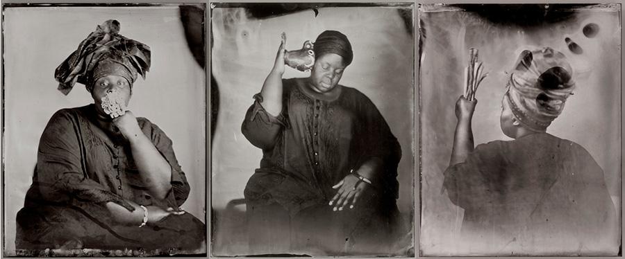 Khadija Saye: Dwelling: in this space we breathe
