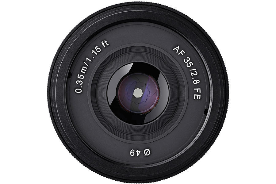 Samyang präsentiert 35mm f/2.8 FE für Sony E-Mount | photoscala