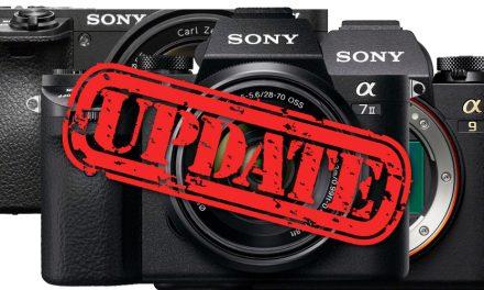 Sony: Umfangreiche Firmware-Updates veröffentlicht