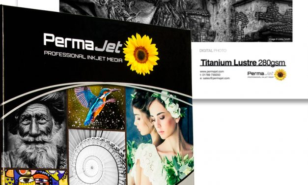 Titanium Lustre 280: Inkjet-Papier mit Silberpigmenten